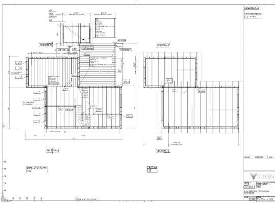 Referensprojekt Konstruktionsritning Nybyggnation
